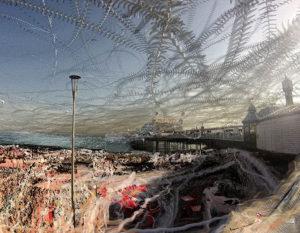 Alex May - Seagulls over Brighton Pier (Algorithmic Photography)